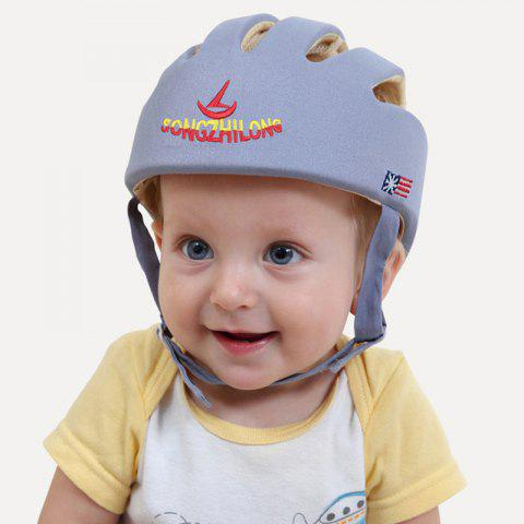 Anti-knock Learning to Walk Cap for Toddlers - BLUE GRAY