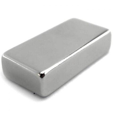 N50 Square Cube Super Strong Magnet 1PC - SILVER