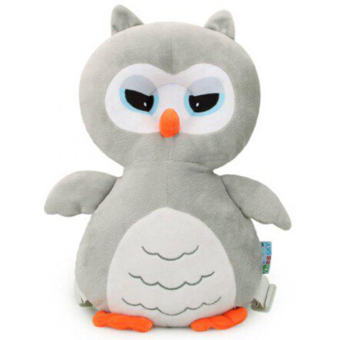 Cute Cartoon Shatter-resistant Headrest Baby Pillow Anti-collision Safety Protection Pad - LIGHT GRAY