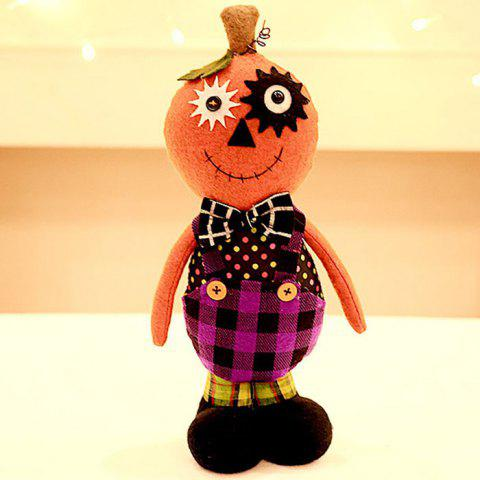 303 Creative Cartoon Halloween Tricky Standing Pose Doll - multicolor A