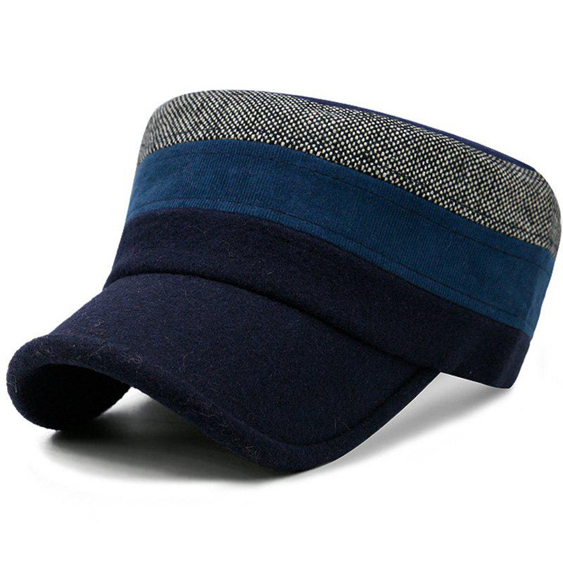 Fashionable Exquisite Army Cap for Warming - DARK SLATE BLUE