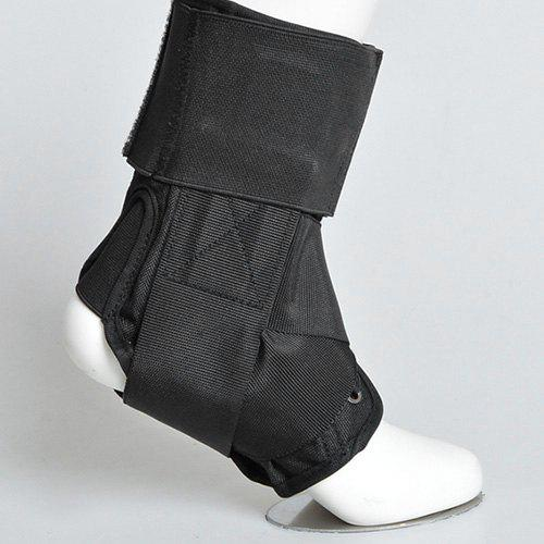 Sports Sprain Protection Ankle Joint with Foot Drop Orthosis Sprain - BLACK S