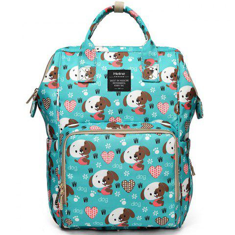 Fashion Multi-function Large Capacity Mother Bag - multicolor DOG STYLE