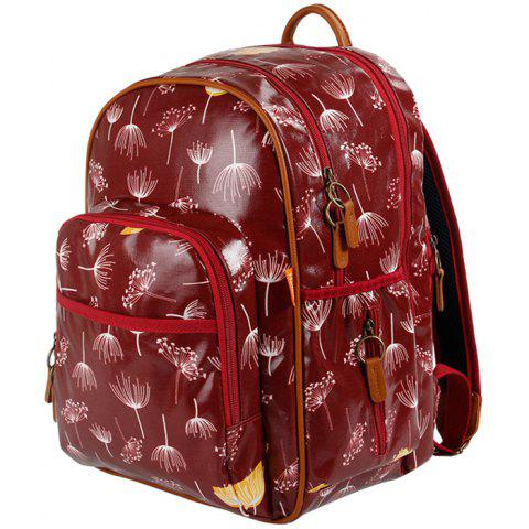 Multifunctional Eco-Friendly Fashion Shoulder Large Capacity Mother Backpack - TAN