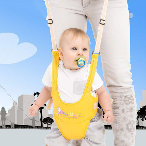 Baby Shatter-resistant Safety Multi-function Reinforcement Basket Type Toddler Belt - YELLOW