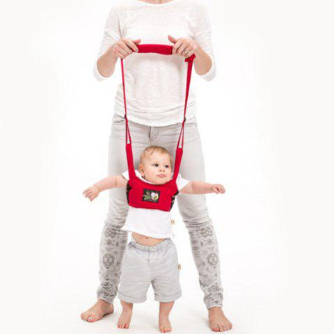 Shatter-resistant Safety Multi-function Baby Toddler Belt - RED