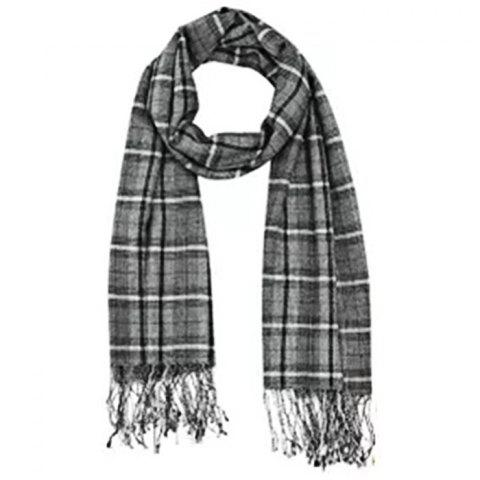 instantme Fashion Blended Silk Cashmere Scarf from Xiaomi Youpin - multicolor A