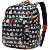 Multifunctional Eco-Friendly Fashion Shoulder Large Capacity Mother Backpack - BLACK