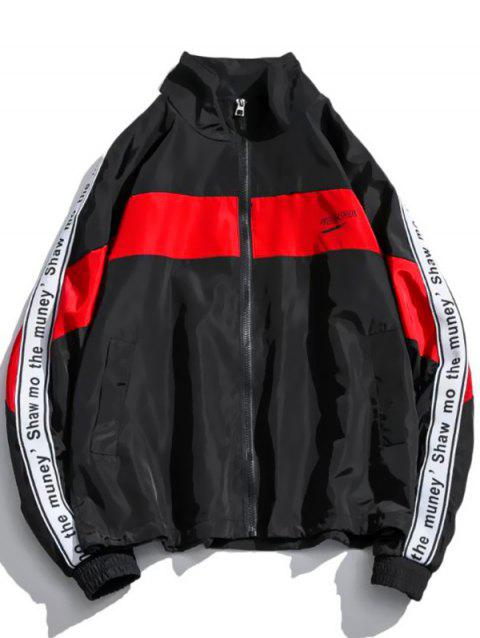 Men's Jacket Casual Fashion - RED 5XL