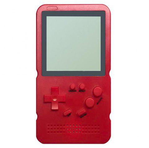 Classic Handheld Game Console Educational Toy - RED WINE