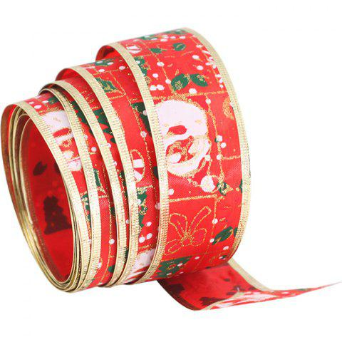 5ac4275947c22 2019 DIY Bow Ribbon Christmas Decorations In LAVA RED
