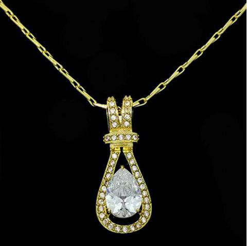 K614 Fashion Korean Version Of The Female Gourd Necklace - GOLD
