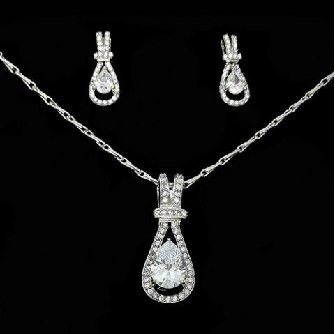 K614 Fashion Korean Version Of The Female Gourd Necklace - SILVER