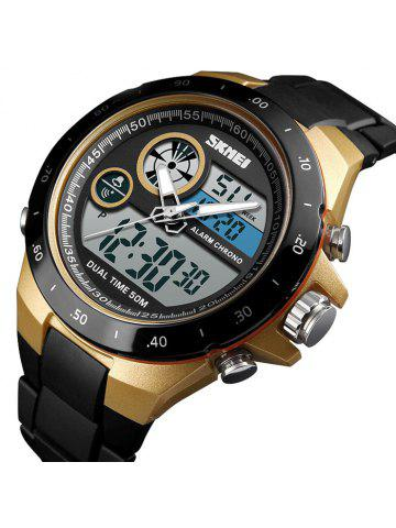 Skmei 1429 Male Outdoor Multi-function Dual Display Chronograph Stopwatch  Electronic Watch 5a1c75bb949