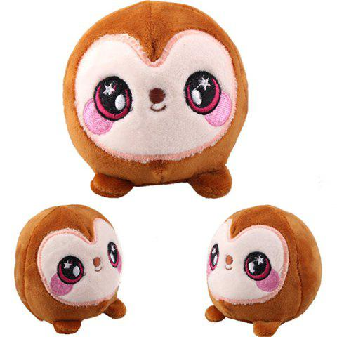 New Style Plush Squishy Toy Animal Scent Decompression Toys - BROWN