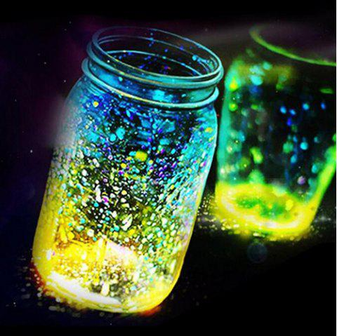 Luminous Particle Fluorescent Sand For Home Decoration / Party - AZURE