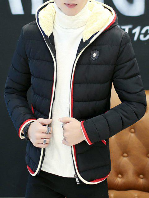 970de1b30 2019 Couple S Warm Downs Jacket Casual Thick Cotton Hat Can Be Down ...