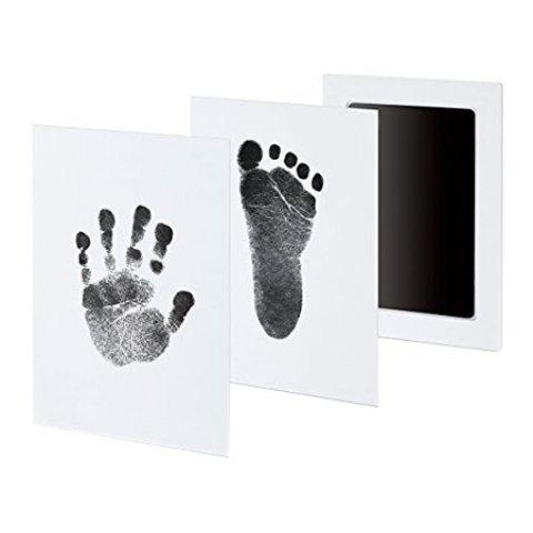Anti-virus Infection Baby Special Hand And Foot Print Hand Print Table - BLACK