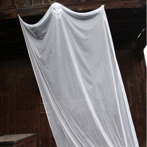 Halloween Decoration Haunted House Hanging Ghost Props - WHITE