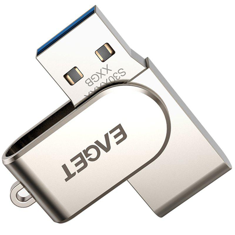 EAGET S30 USB3.0 Interface All Metal U Disk - SILVER 64G