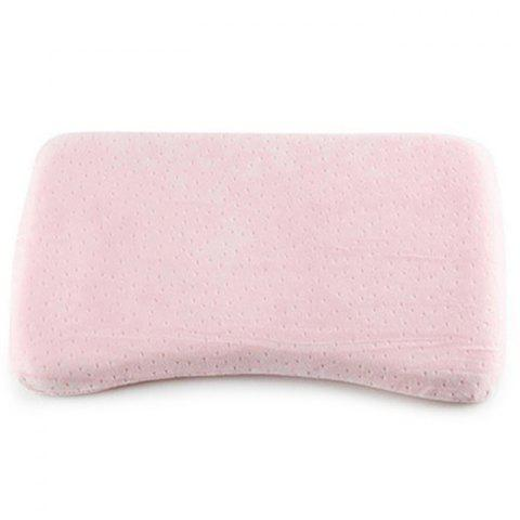 0-3 Years Old Baby Supplies Correct Head Type Plus Long Infant Memory Pillow - PIG PINK