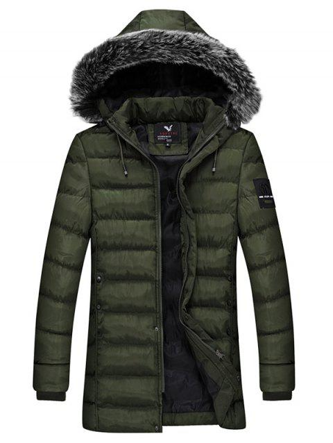 Winter Men Cotton Suit Youth Fashion Jacket - ARMY GREEN L