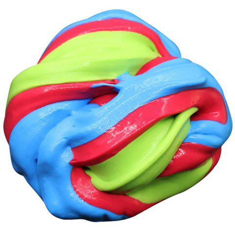 Mixed Color Slime Poke Ultra Light Cotton Clay - multicolor C