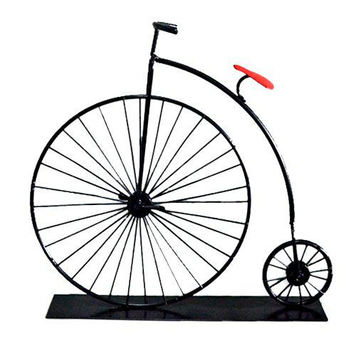 Mini Bicycle Model Ornaments Retro Classic Car Creative Iron Crafts for Gift - BLACK