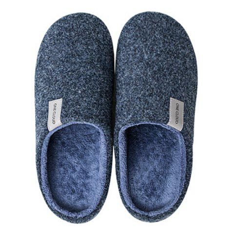 f916bed646af One Cloud Unisex Cotton Slipper Warm Comfortable from Xiaomi Youpin - GRAY  43-44