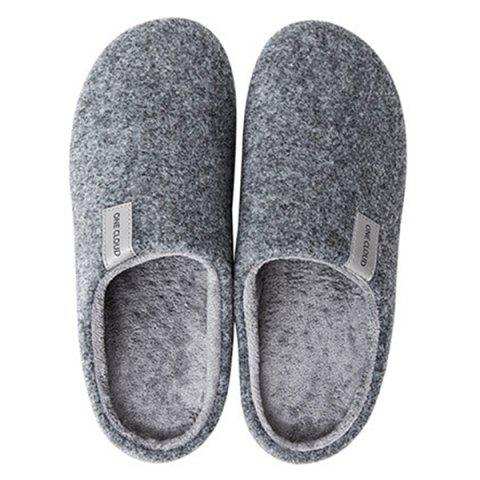 One Cloud Unisex Cotton Slipper Warm Comfortable from Xiaomi Youpin - LAPIS BLUE 39-40