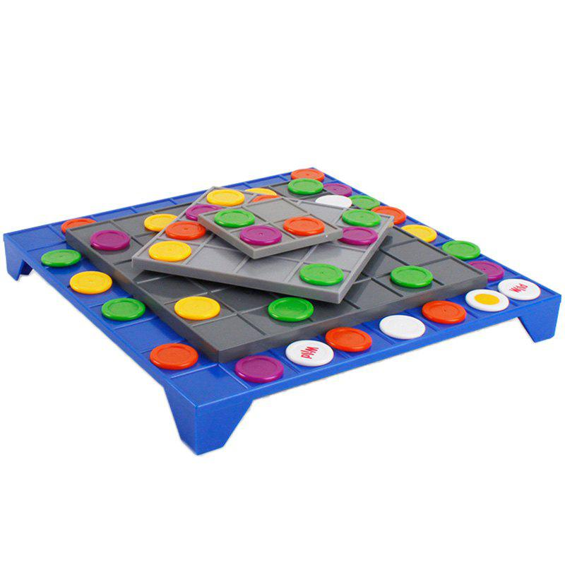 3D Rotating Four Chess Connected Board Game