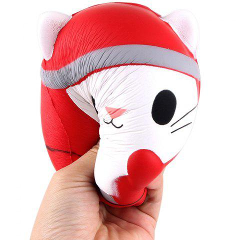 Christmas Gift Squishy Slow Rebound Decompression Toy - RED