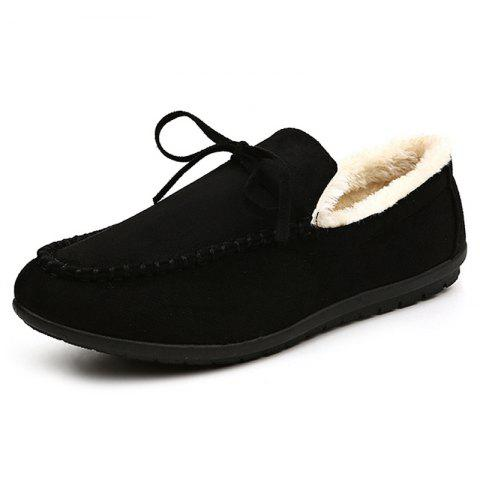 DC - 907 Women's Peas Shoe Plus Cotton - BLACK EU 41