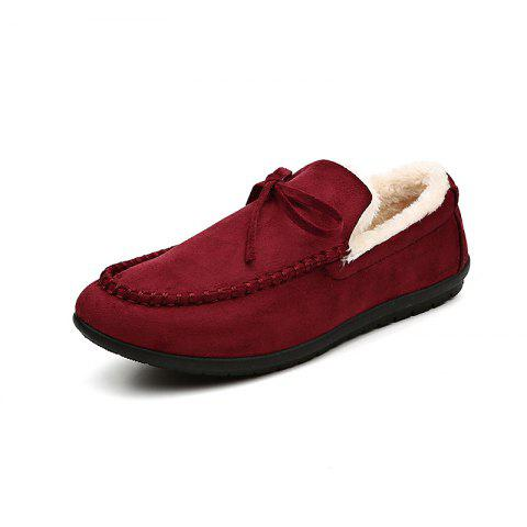 DC - 907 Women's Peas Shoe Plus Cotton - RED WINE EU 42