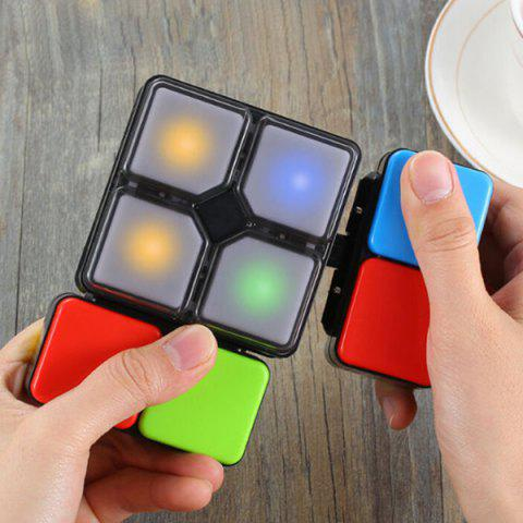 Illuminated Electric Game Magnetic Cube - multicolor A