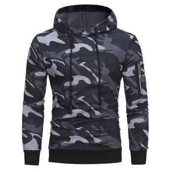 Image of 1516 w05 Autumn And Winter Classic Camouflage Casual Men Hooded Pullover Sweater Men Hoodie