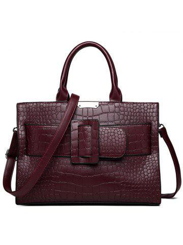cd461e4f8769 2019 Red Crocodile Bag Online Store. Best Red Crocodile Bag For Sale ...