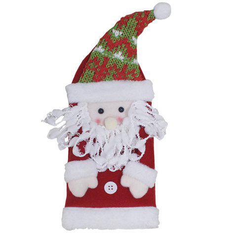 Christmas Gift Old Man Wine Bottle Cover Christmas Wine Bottle Decoration Christmas Red Wine Bottle Bag