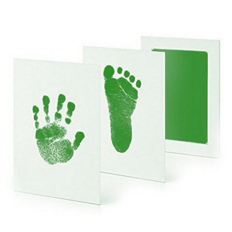 Anti-virus Baby Special Hand And Foot Print Free Wash Ink - GREEN