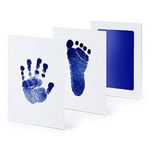 Anti-virus Baby Special Hand And Foot Print Free Wash Ink - BLUE