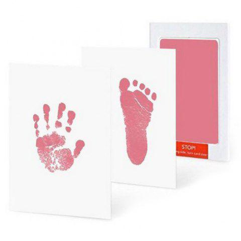 Anti-virus Baby Special Hand And Foot Print Free Wash Ink - PINK