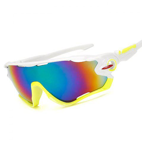Outdoor Sports Riding Explosion-proof Sunglasses - multicolor B