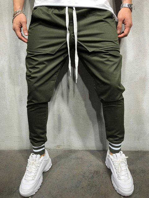 find lowest price best place shop Personality Hip Hop Style Stitching Cotton Casual Pants for Men