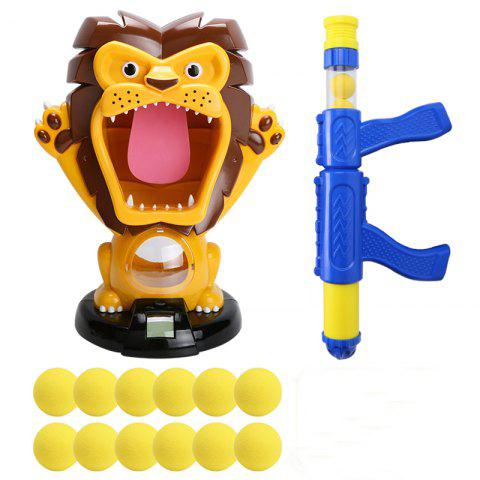 Hungry Lion Amusement Doll Shooting Trainning Novelties Toy - multicolor A
