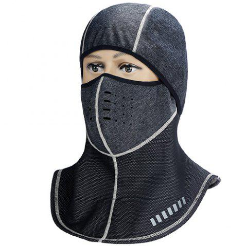 INBIKE X - 5 Cycling Full Face Cover Anti-dust Windproof Ski Mask Snowboard Hood Bike Thermal Balaclavas Scarf - GRAY