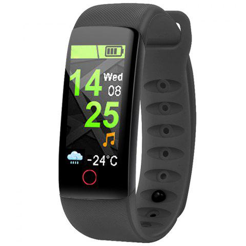 IT109 Heart Rate Blood Pressure Monitoring Smart Bracelet - BLACK