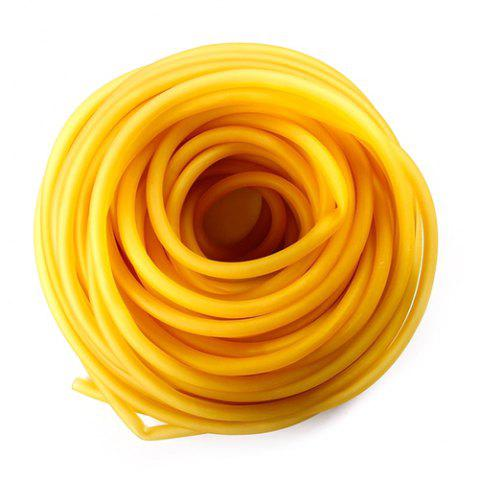 7 - C8Y2 Hollow Rubber Band - BEE YELLOW