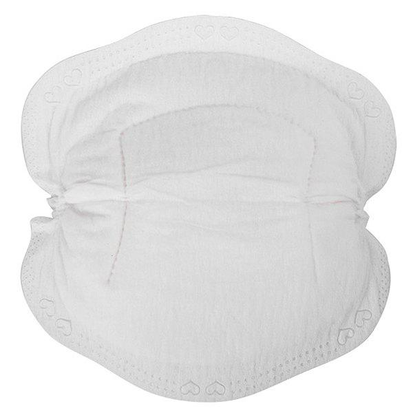 24pcs Ultra-thin Breathable Disposable Anti-overflow Breast Pads - WHITE