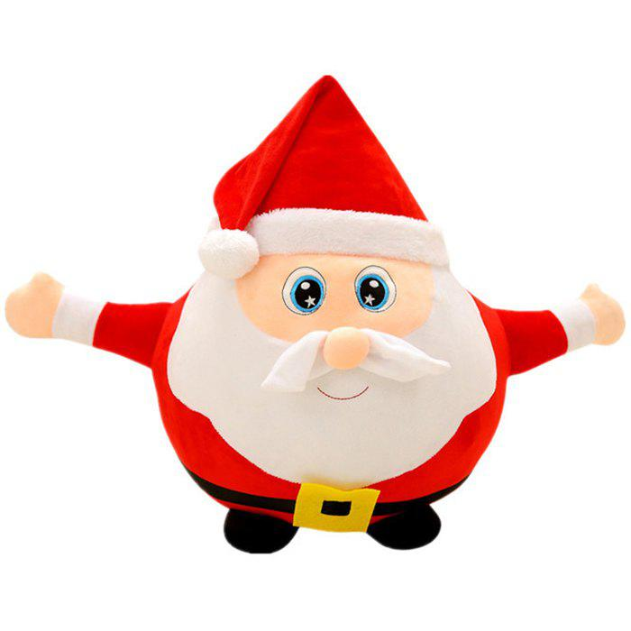 Santa Claus Doll 25CM Plush Toy Christmas Day Decoration Gift - RED
