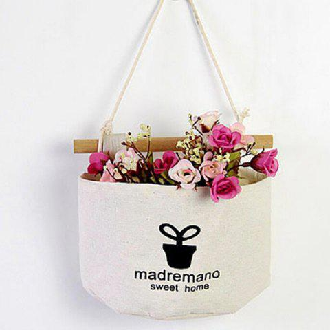 Grocery White Wall Hanging - WHITE